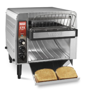 Waring Commercial Cts1000b Heavy duty Stainless Steel Conveyor Toaster 208 volt