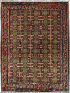 Hand Knotted Persian 4 9 X 6 2 Turkoman Traditional Wool Rug