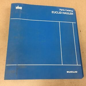 Euclid 301ld Hauler Parts Manual Book Catalog Quarry Haul Dump Truck Vme Volvo