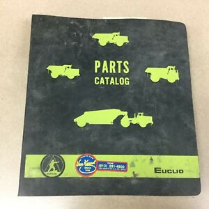 Euclid 215fd Hauler Parts Manual Book Catalog Quarry Haul Dump Truck Guide List