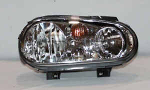 Tyc 20 6473 90 Right Headlight Assembly For 1999 2002 Volkswagen Golf Vw2503113