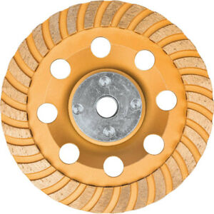 Makita 5 In Low vibration Turbo Diamond Cup Wheel For Concrete A98871 New