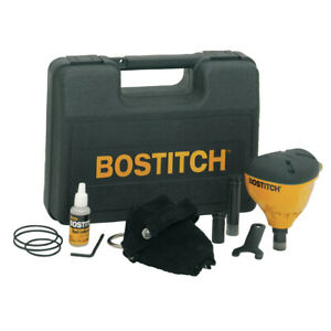 Bostitch Fixed Drive Impact Palm Nailer Kit W Carrying Case Pn100k New
