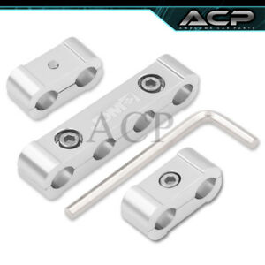 Jdm Sport Chrome Spark Plug Wire Dividers Spacers For V4 Universal Seperator Set