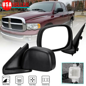 Driver Left Side Mirror For 02 08 Dodge Ram 1500 03 09 2500 3500 Power Heated