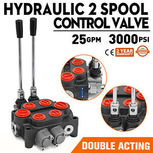 2 Spool 25gpm Rd522ccaa5a4b1 Hydraulic Valve Double Acting Log Splitters 9 6702