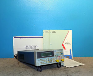 Sony Tektronix Afg310 Arbitrary Function Generator W Manuals Software