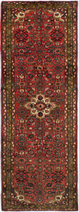 Hand Knotted Persian Carpet 3 7 X 9 8 Bordered Persian Traditional Wool Rug