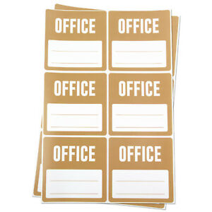 Office Blank Stickers Memo Note Moving Box Supplies Clearance Labels 3 x3 4pk