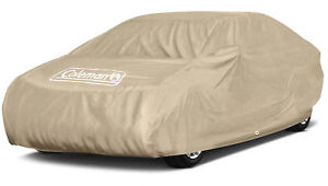 Coleman Executive Car Cover Indoor Outdoor Waterproof Dust Sun Scratch Resistant