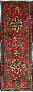 Hand Knotted Persian 3 7 X 9 11 Persian Vintage Traditional Wool Rug