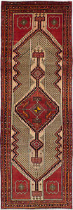 Hand Knotted Persian 3 5 X 10 9 Persian Vintage Traditional Wool Rug
