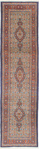 Hand Knotted Persian 2 7 X 9 10 Mood Birjand Geometric Vintage Wool Rug