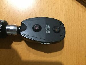 Heine Beta 200 Ophthalmoscope W Heine Rechargeable Handle With New Battery