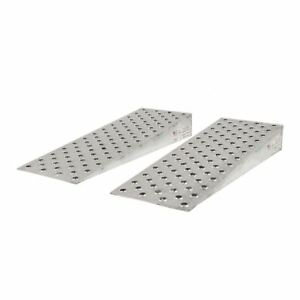 Aluminum High traction Shipping Container Ramp Wedges 48 L X 16 W