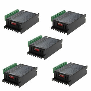 5x Cnc Single Axis 4a Tb6600 2 4 Phase Hybrid Stepper Motor Controller Drivers