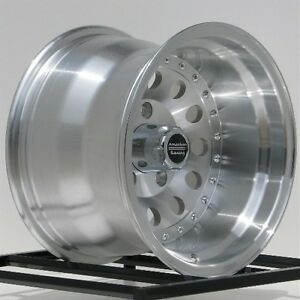 15 Inch Machined Wheels Rims Chevy S10 Blazer Gmc S15 2wd 5 Lug 5x4 75 15x10