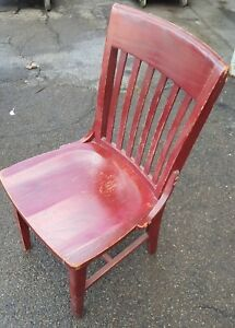 19 Real Wood Chairs Seating Dining Commercial Restaurant Deli Pizza Used Quality
