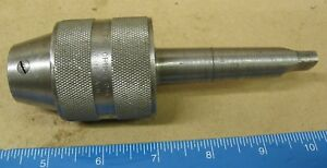 6 New Britain Keyless Drill Chuck With 2 Morse Taper Mount