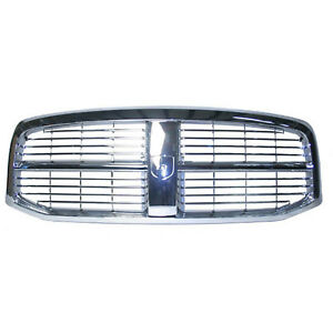 Chrome Grill Assembly For Dodge Ram 1500 Ram 2500 Ram 3500 Grille Ch1200281
