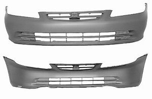 Cpp Front Bumper Cover For 2001 2002 Honda Accord