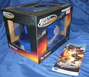 FAST & FURIOUS SUPERCHARGED Universal Studios Exclusive Toy Helmet~LightsSounds