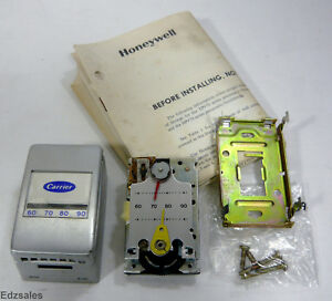 Honeywell Carrier Pneumatic Thermostat Tp973b 1090 1 Reverse Acting W cover Moun