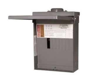 Square D Qo816l100rbcp Outdoor Main Load Center 100 Amp