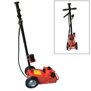 22 Ton Air Hydraulic Floor Jack Workshop Trailer Truck Bus Car Repair Stand Tool