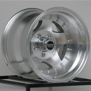 1 15 Inch Wheels Rims Jeep Wrangler Ford Ranger Machined 5 X 4 5 Lug New 15x10