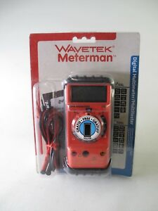 Wavetek Meterman 5xl Digital Multimeter multitester With Free Holster New