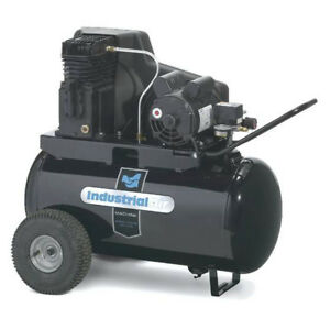 Industrial Air 1 9 Hp 20 Gallon Electric Air Compressor Ipa1882054 New