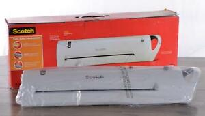 Scotch Tl1302 Portable Advanced Thermal Laminator 13 Extra Wide 1 Minute Warmup