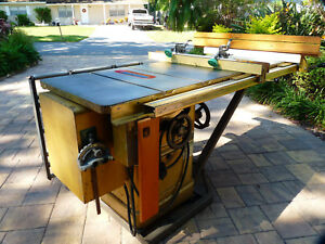 Powermatic 66 5 Hp Single Phase Table Saw Lots Of Accessories Too