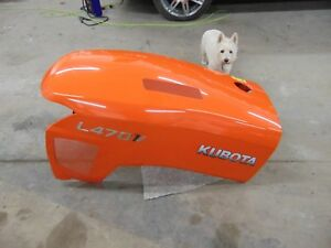 Used Hood Oem Off Kubota L4701 Sub compact Tractors Tractor Dealer Take Off
