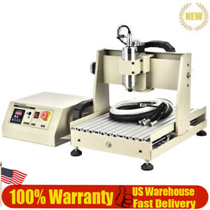 Cnc 3040 4 Axis 0 8kw Water cooled Vfd Engraving Machine With 3 year Warranty
