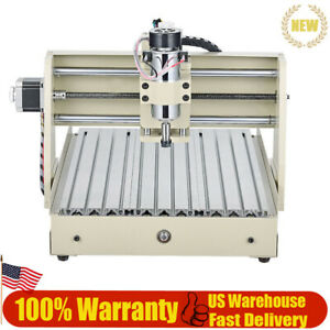 Av110v Cnc 3040t Aluminum Alloy Desktop Engraving Machine With 3 year Warranty