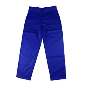 Flame resistant Welding Trousers Blue Fire Retardant For Variety Pants