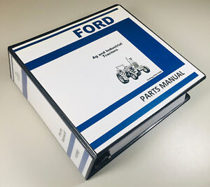 Ford 231 531 Lcg Tractor Ag Industrial Parts Manual Catalog
