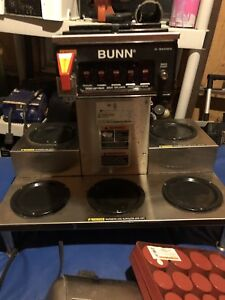 Bunn Commercial Automatic Coffee Maker 5 Burner