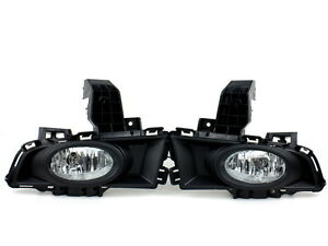 Front Car Bumper Fog Lights For Mazda 3 2007 2008 W Bulbs Switch Wire 1 Set
