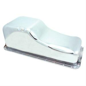 Spectre 5492 Oil Pan Steel Chrome Plated 5 Qt Ford 429 460 Each