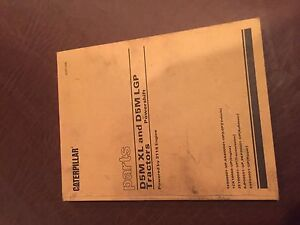 Caterpillar Cat D5m Xl D5 Lgp Tractor Dozer Parts Book S n 5es 6as