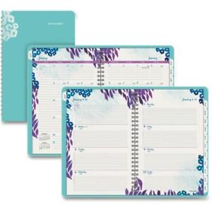 At a glance 523200 5 5x8 5 In Wild Washes Weekly monthly Planner Floral 2018