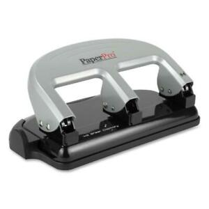 Accentra Inc Aci2240 3 Hole Punch Traditional 40 Sheet Capacity Black Silver
