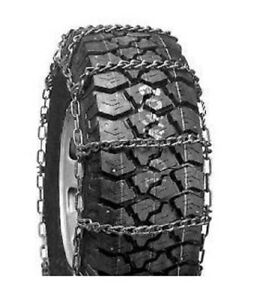 Rud Wide Base Dual Mount 285 75r16lt Truck Tire Chains 3229r 8cr