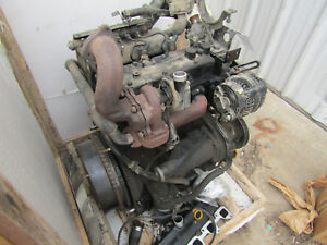 Mahindra 2555 3 Cyl 52 Hp Diesel Engine Complete Take Out W Accessories
