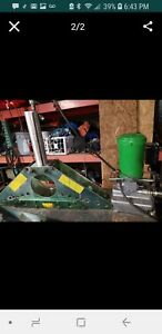 Greenlee 777 883 Bender 1 1 4 To 4 Inch Rigid Pipe With 960 Hydraulic Pump
