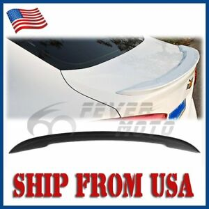 Us Unpainted Abs Rear Trunk Spoiler Factory Style For Chevy Cruze 2017 2018 Fm
