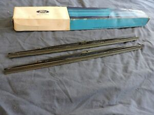 Nos 1971 1972 1973 Ford Mustang Mach 1 Boss 351 Windshield Wiper Blades Set Nos